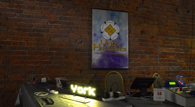 York Hackspace at Manchester Mini Maker Faire