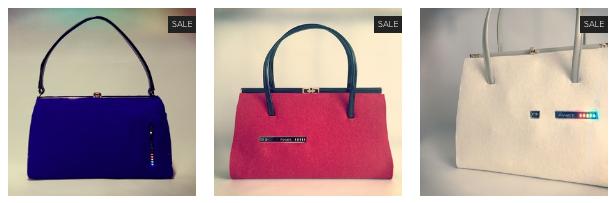 3 colour ily bags