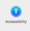 close up accessibility icon