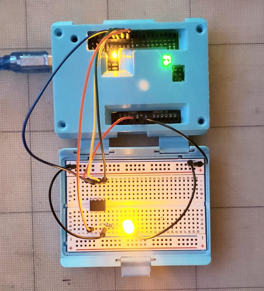 arduino in case