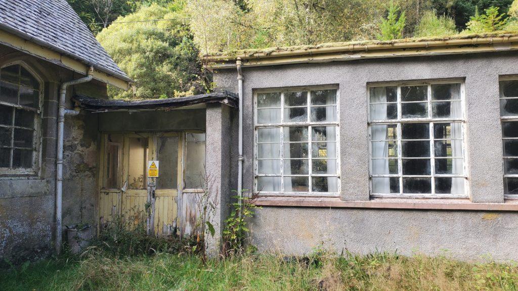school abandoned