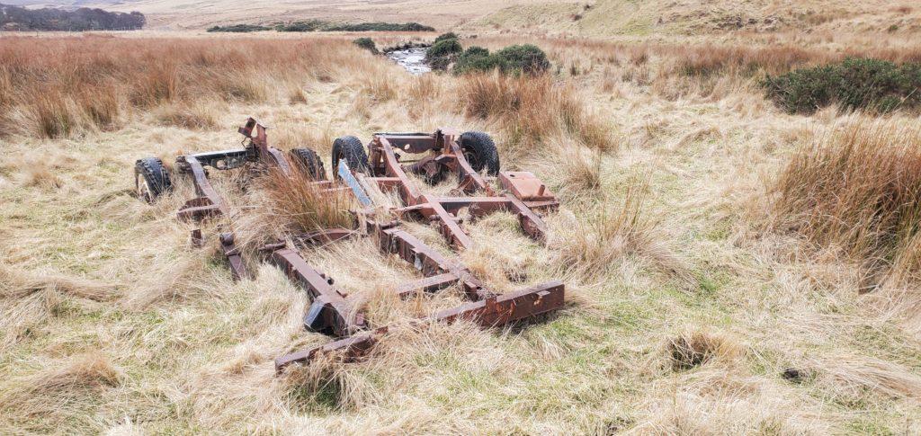 unused farm equipment