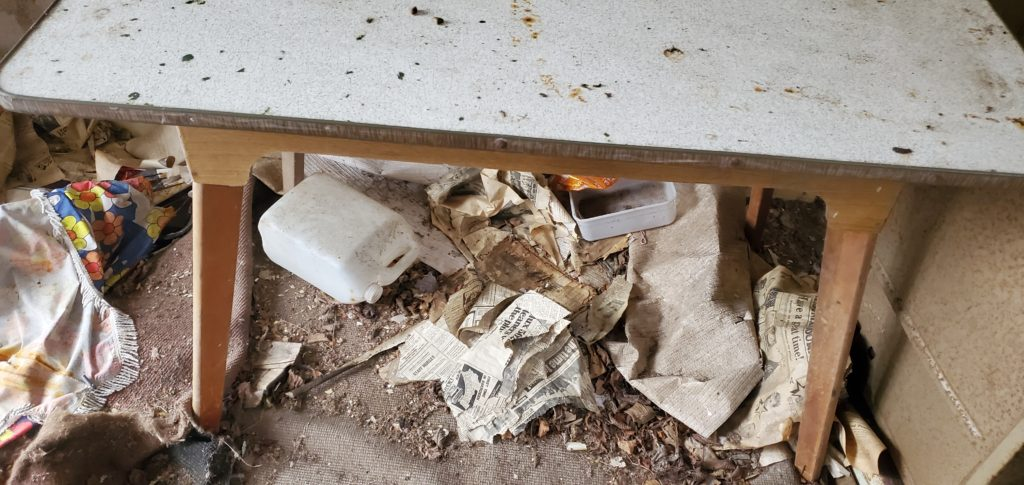 table and junk