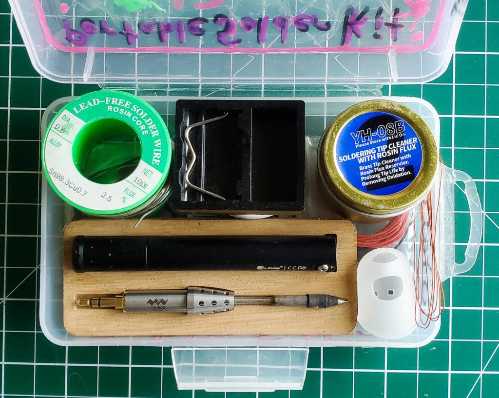 My solder box essentials