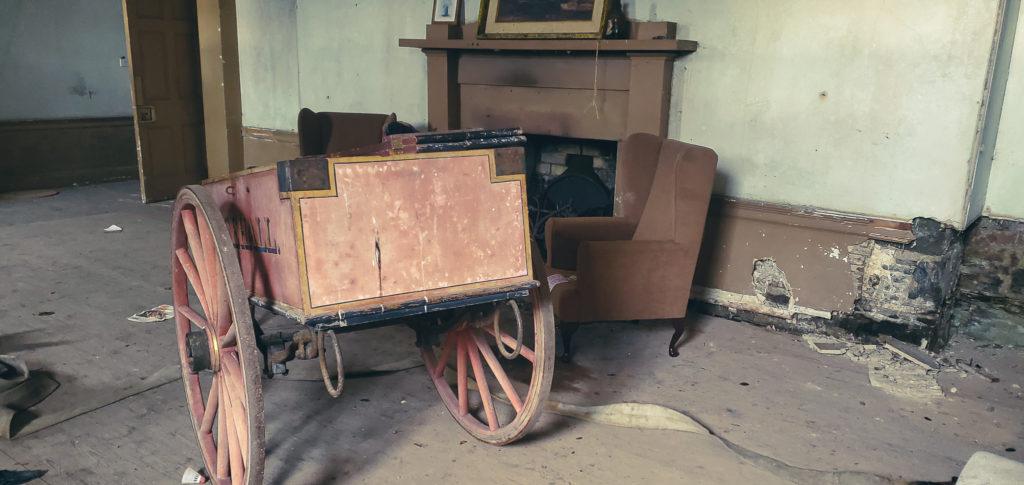 firecart at Rosehall